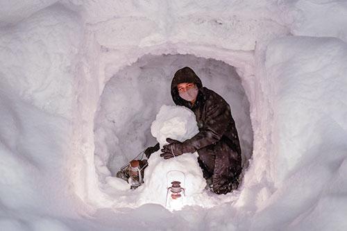 #025 まるで超能力? 新しい雪おろしの方法